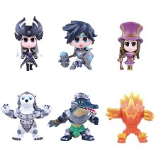 League of Legends figures set(6pcs a set)