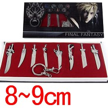 Final Fantasy cos weapons set