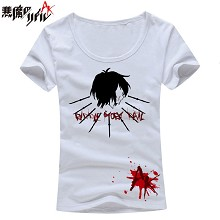 Akuma-riddle cotton t-shirt for female