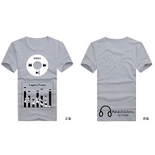 MekakuCity Actors cotton t-shirt for male