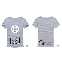 MekakuCity Actors cotton t-shirt for female