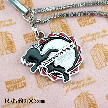 Detective conan 18th phone strap(red)