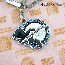 Detective conan 18th phone strap(blue)