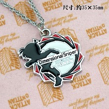 Detective conan 18th necklace(red)