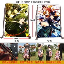Black Bullet drawstring bag BBD112