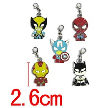 The Avengers key chains set
