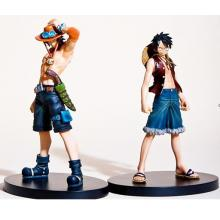 one piece Luffy and Ace figures(2pcs a set)