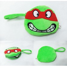 Teenage Mutant Ninja Turtles plush coin purse/wallet