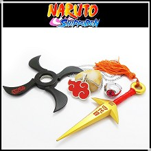 Naruto cos weapons(4pcs a set)