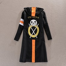 One Piece Law cos coat hoodie