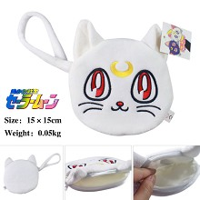 Sailor Moon plush change purse or zero wallet