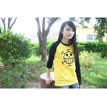 One Piece Law cotton long sleeve t-shirt