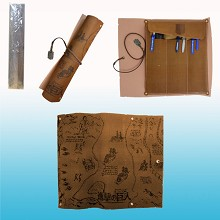 Attack on Titan map pen bag(random)