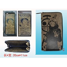 One Piece Law pu wallet