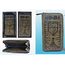 Attack on Titan pu wallet