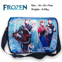 Frozen canvas satchel shoulder bag
