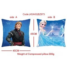 Frozen two-sided pillow(45X45)BZ873