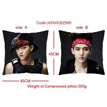 EXO star two-sided pillow(45X45)BZ880