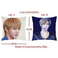 EXO star two-sided pillow(45X45)BZ882