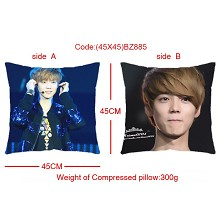 EXO star two-sided pillow(45X45)BZ885