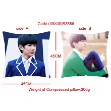 EXO star two-sided pillow(45X45)BZ886
