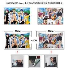 Free! two-sided pillow(45X70CM)015