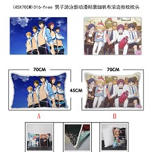 Free! two-sided pillow(45X70CM)016