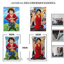 One Piece two-sided pillow(45X70CM)026