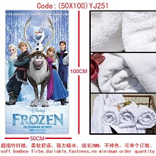 Frozen bath towel(50X100)YJ251