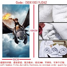 How to Train Your Dragon bath towel(50X100)YJ262