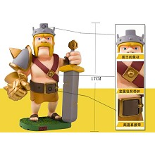 Clash of clans the King figure