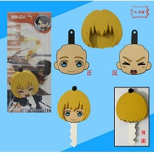 Attack on Titan Armin phone dust plug/Pluggy