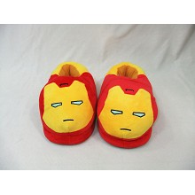 Iron Man plush slippers/shoes a pair