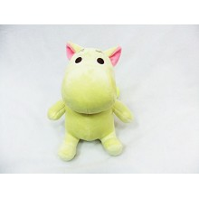 7inches hippo plush doll(yellow)