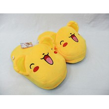 Card Captor Sakura plush slippers/shoes a pair