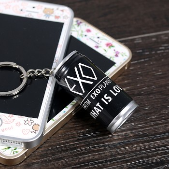 EXO Cola Style Ball Pen Keychain
