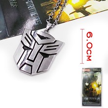 Transformers necklace
