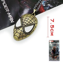 Spider-man necklace
