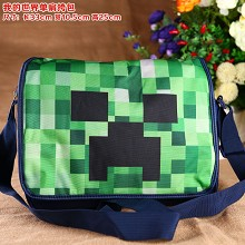 Minecraft satchel shoulder bag