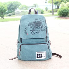 Tomb Notes canvas backpack bag