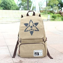 Naruto canvas backpack bag
