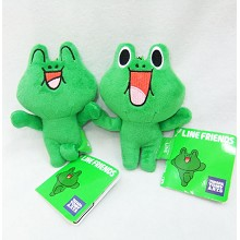 5inches Line Friends plush dolls(2pcs a set)