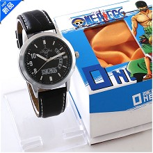 One Piece calendar watch