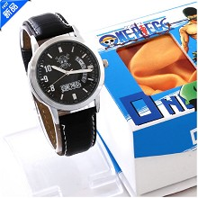 One Piece Luffy calendar watch