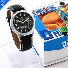 One Piece Law calendar watch