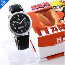 Naruto calendar watch