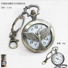 The Hunger Games key chain watch
