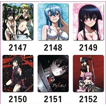 Akame ga KILL! mouse pads set(6pcs a set)