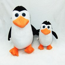 7inches penguin plush doll