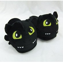 how to train your dragon plush slipper shoes a pai...
